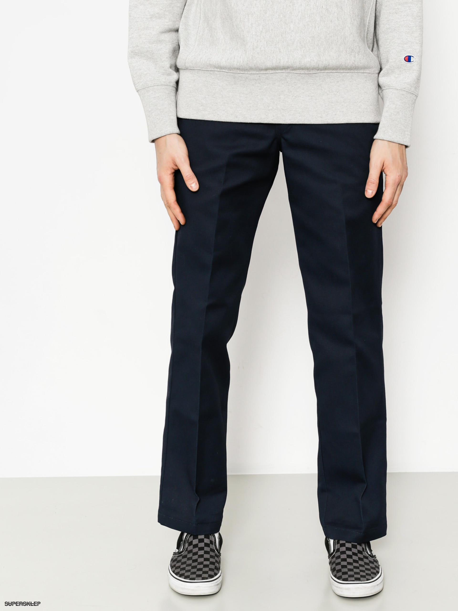 Nohavice Dickies WP873 Slim Straight Work Pant (dark navy)