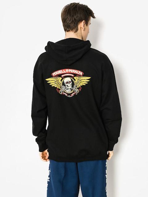 Mikina s kapucňou Powell Peralta Winged Ripper HD (black)