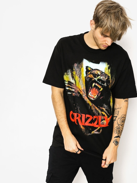 Tričko Grizzly Griptape Hunting Season (black)