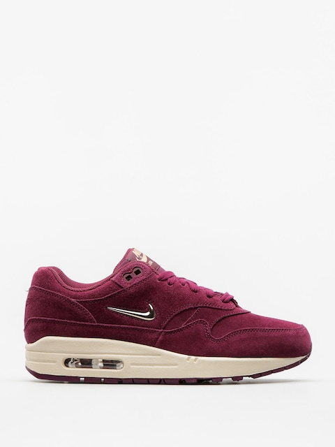 Topánky Nike Air Max 1 Premium Sc Wmn (bordeaux/blur bio beige lt orewood brn)