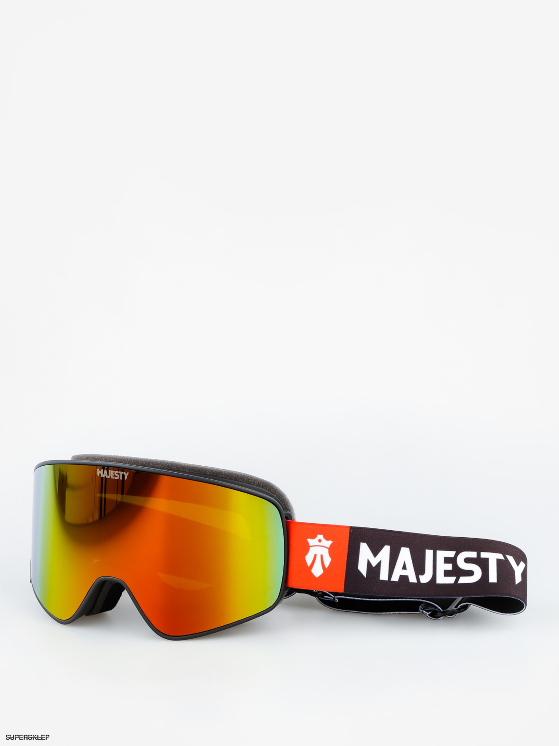 Okuliare na snowboard Majesty The Force (black/fire opal lens citrine spare lens)
