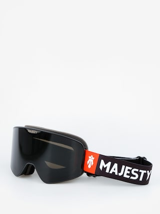 Okuliare na snowboard Majesty The Force (black/black pearl lens citrine spare lens)