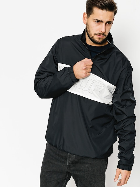 Bunda HUF Jacket Stadium Half Zip Track (black)