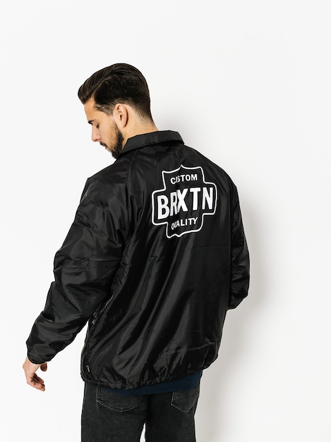 Bunda Brixton Garth (black/white)