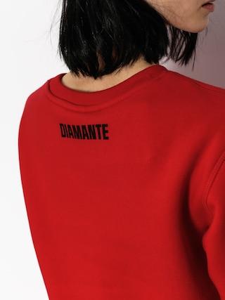 Mikina Diamante Wear Sarcasm Wmn (red)