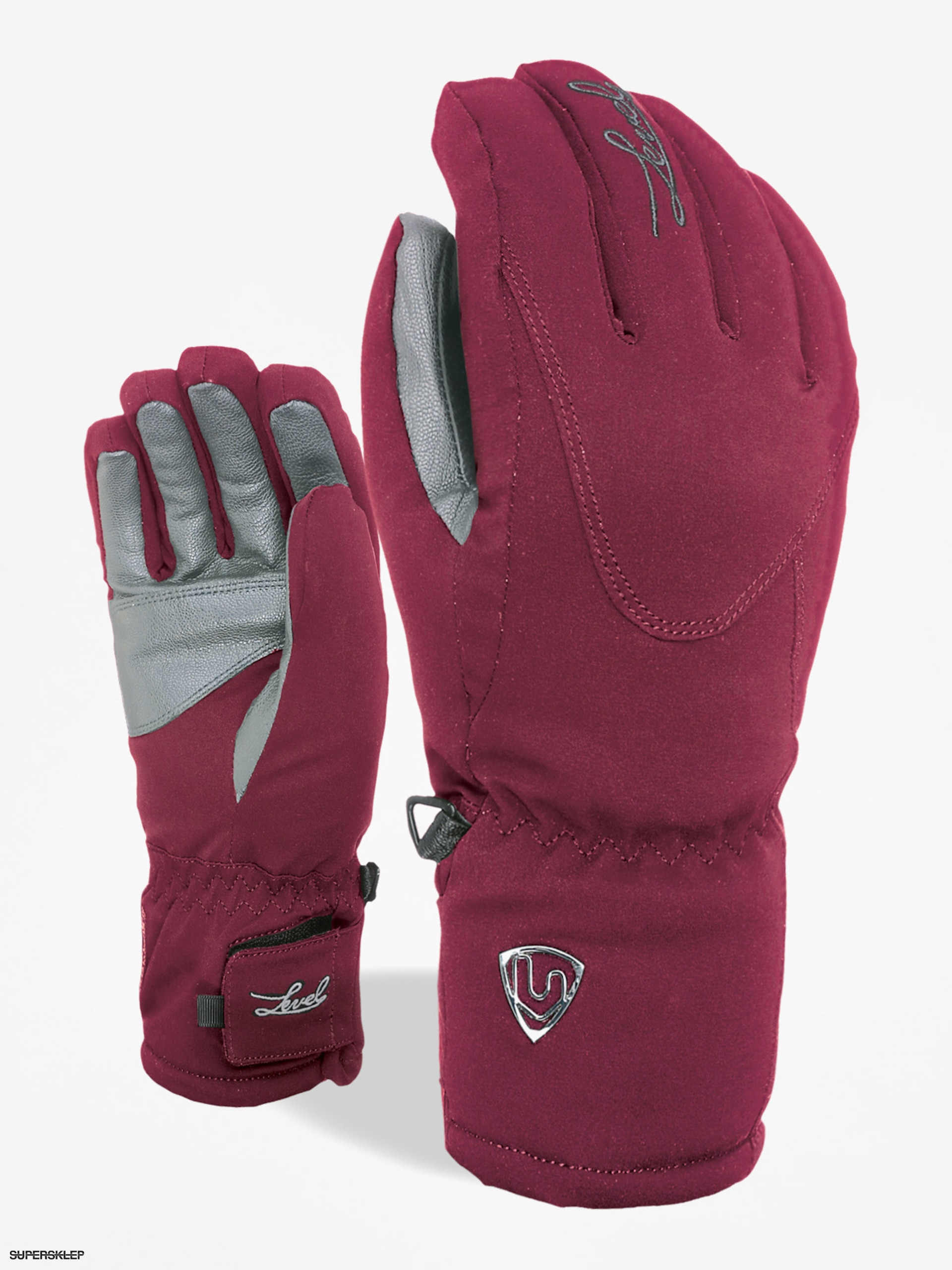 Rukavice Level Alpine Wmn (fucsia)