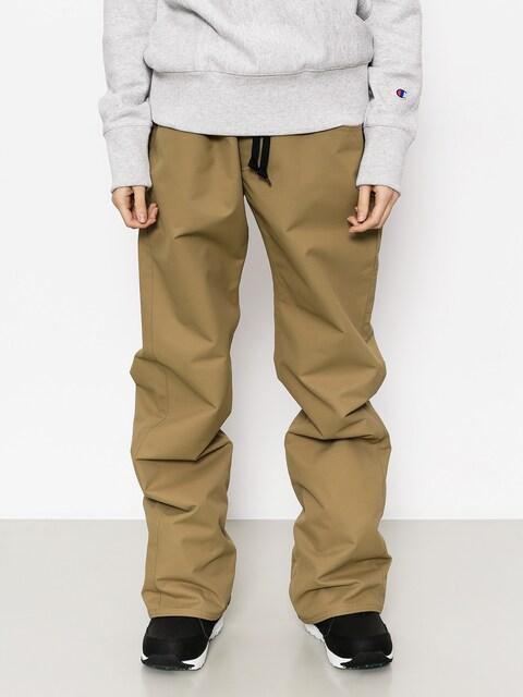Snowboardové nohavice Airblaster Pretty Tight Pant Wmn (khaki)