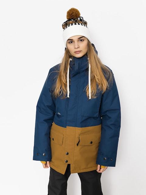 Snowboardová bunda Airblaster Wms Freedom Parka Wmn (navy camel)