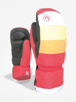Rukavice Level Rainbow Down Jr Mitt (pk rainbow)