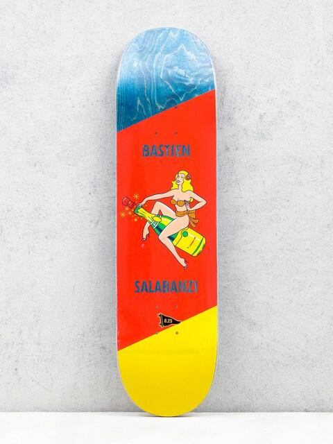 Doska Primitive Salabanzi Pin Up (bottle/red/yellow)