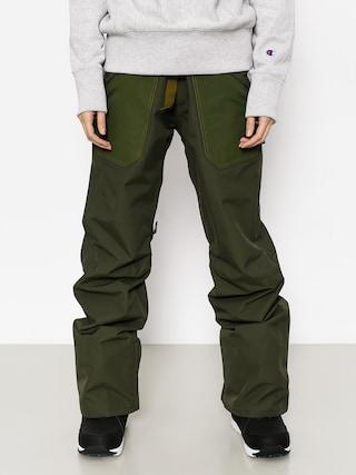 Snowboardové nohavice Burton Veazie Wmn (frstnt/rflgrn)