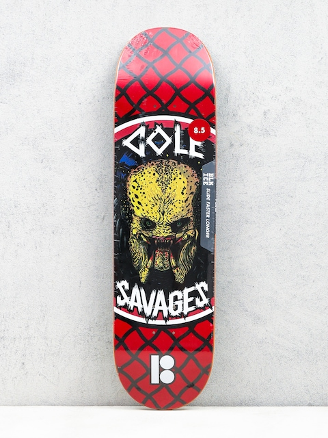 Doska Plan B Cole Savages (red/black/white)