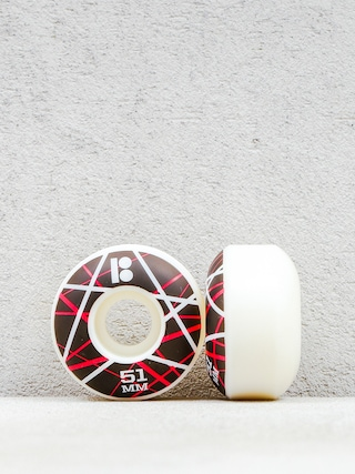 Kolieska Plan B Og Rmx (black/white/red)