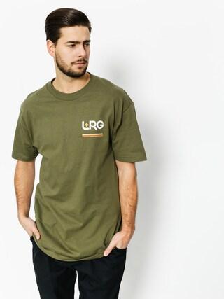 Tričko LRG Lifted 47 (miltry green)
