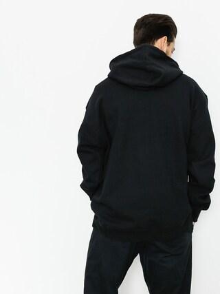 Mikina s kapucňou Primitive Big Arch Pennant HD (black)