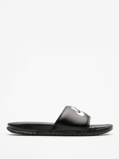 Plážovky Nike Klapki Benassi Just Do It Sandal (black/white)