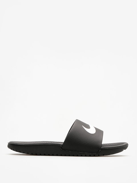 Plážovky Nike Klapki Kawa Gs Slide (black/white)