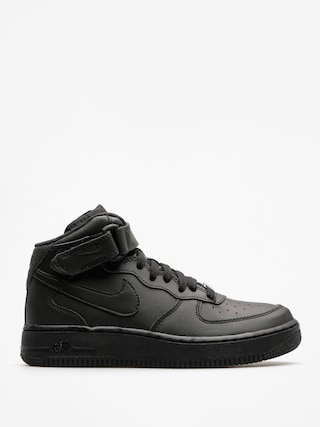 Topánky Nike Air Force 1 Mid Gs Basketball (black/black)