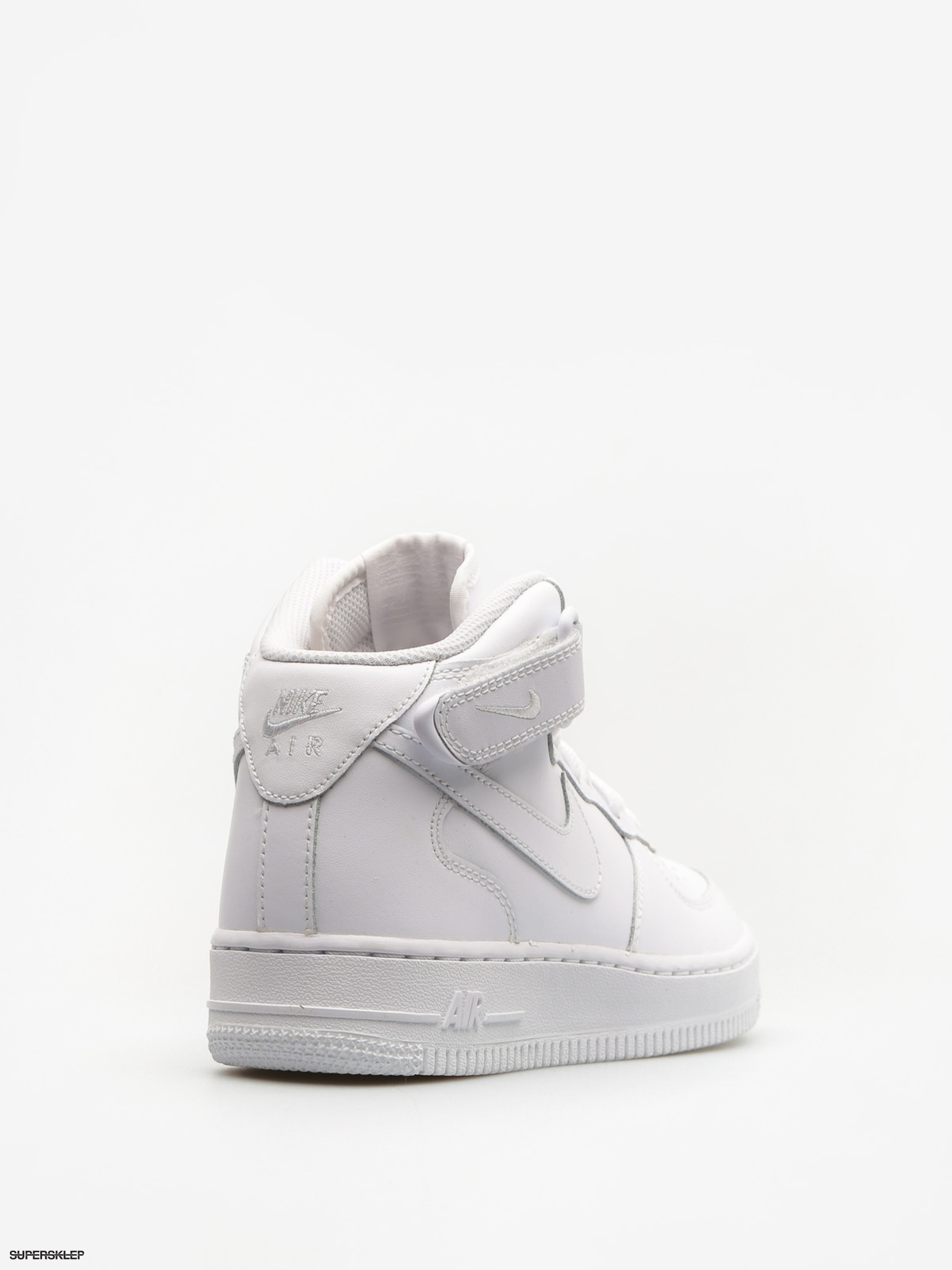 9245bdfe45 Topánky Nike Air Force 1 Mid Gs Basketball (white white)