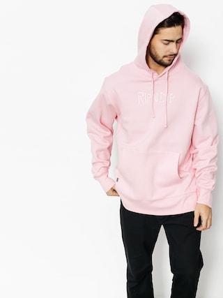 Mikina s kapucňou RipNDip Logo Embroidered HD (pink)