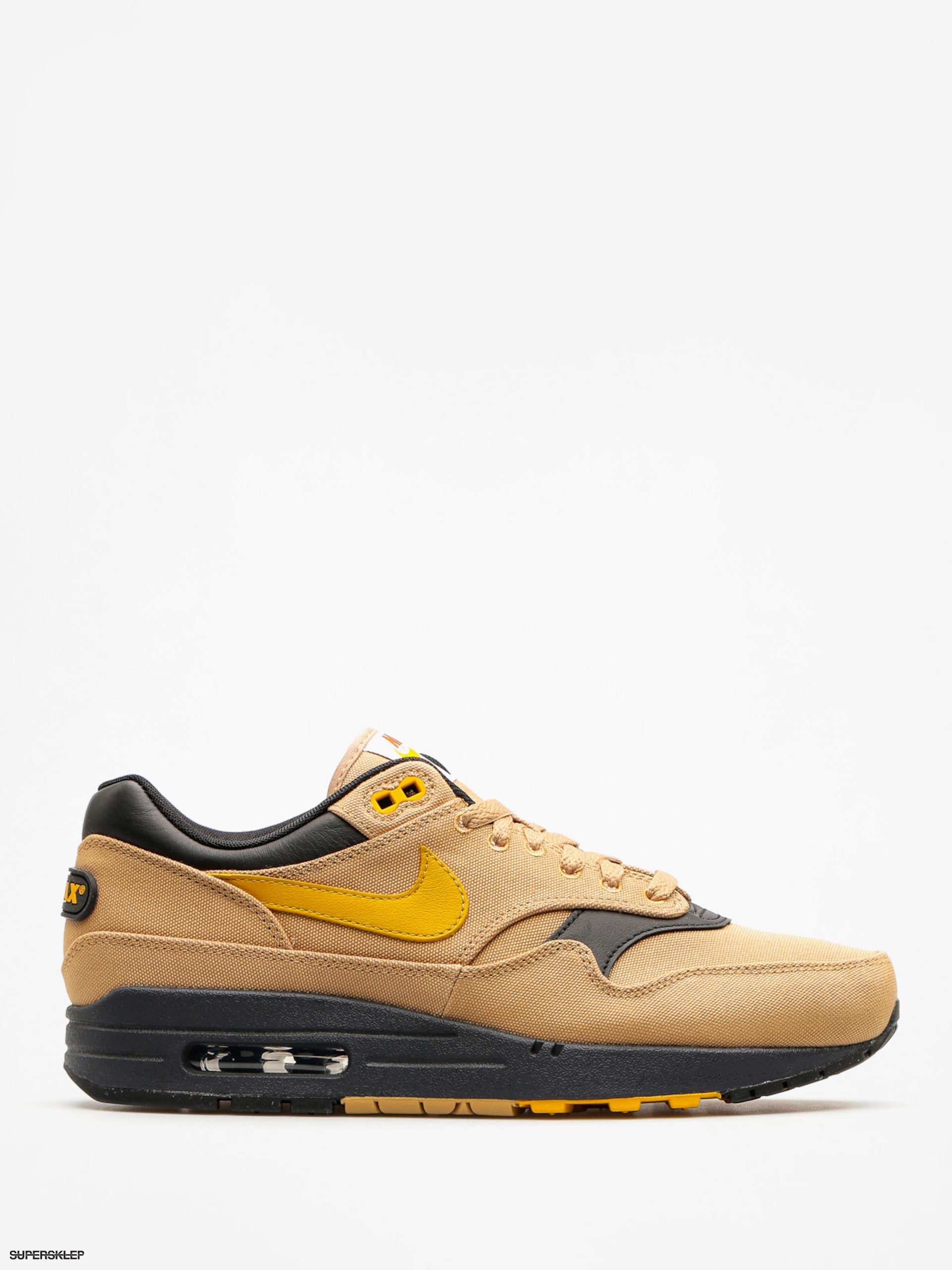 "Topánky Nike Air Max 1 Premium (elemental gold/mineral yellow black ""93 logo pack"" )"