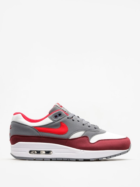 Topánky Nike Air Max 1 (white/university red cool grey team red)