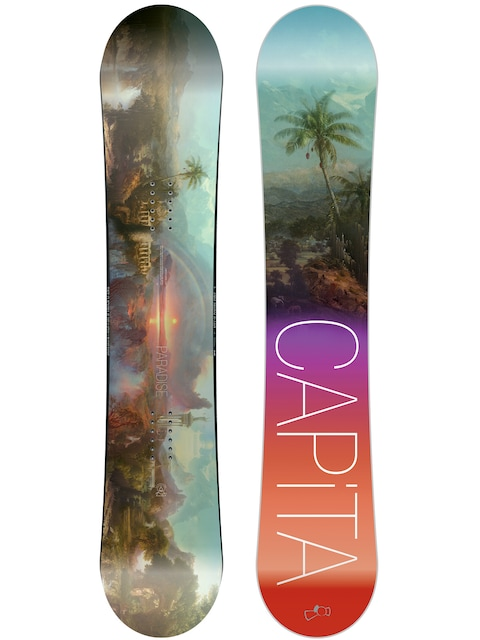 Snowboard Capita Paradise Wmn (teal/black/purple/red)
