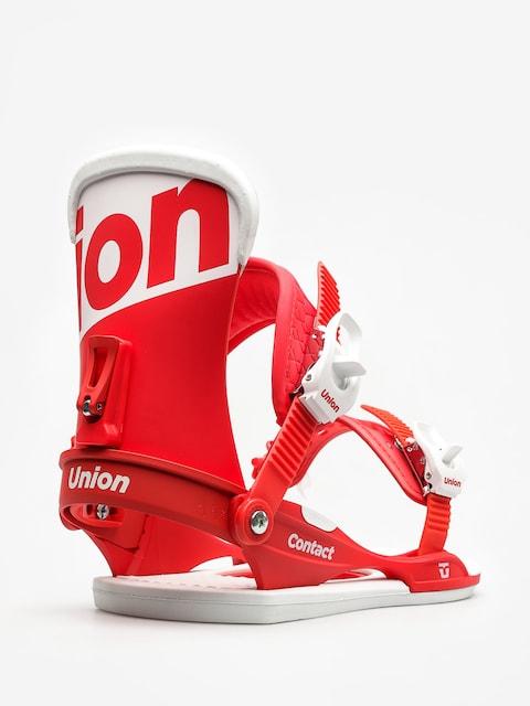 Snowboardové viazanie Union Contact (red)