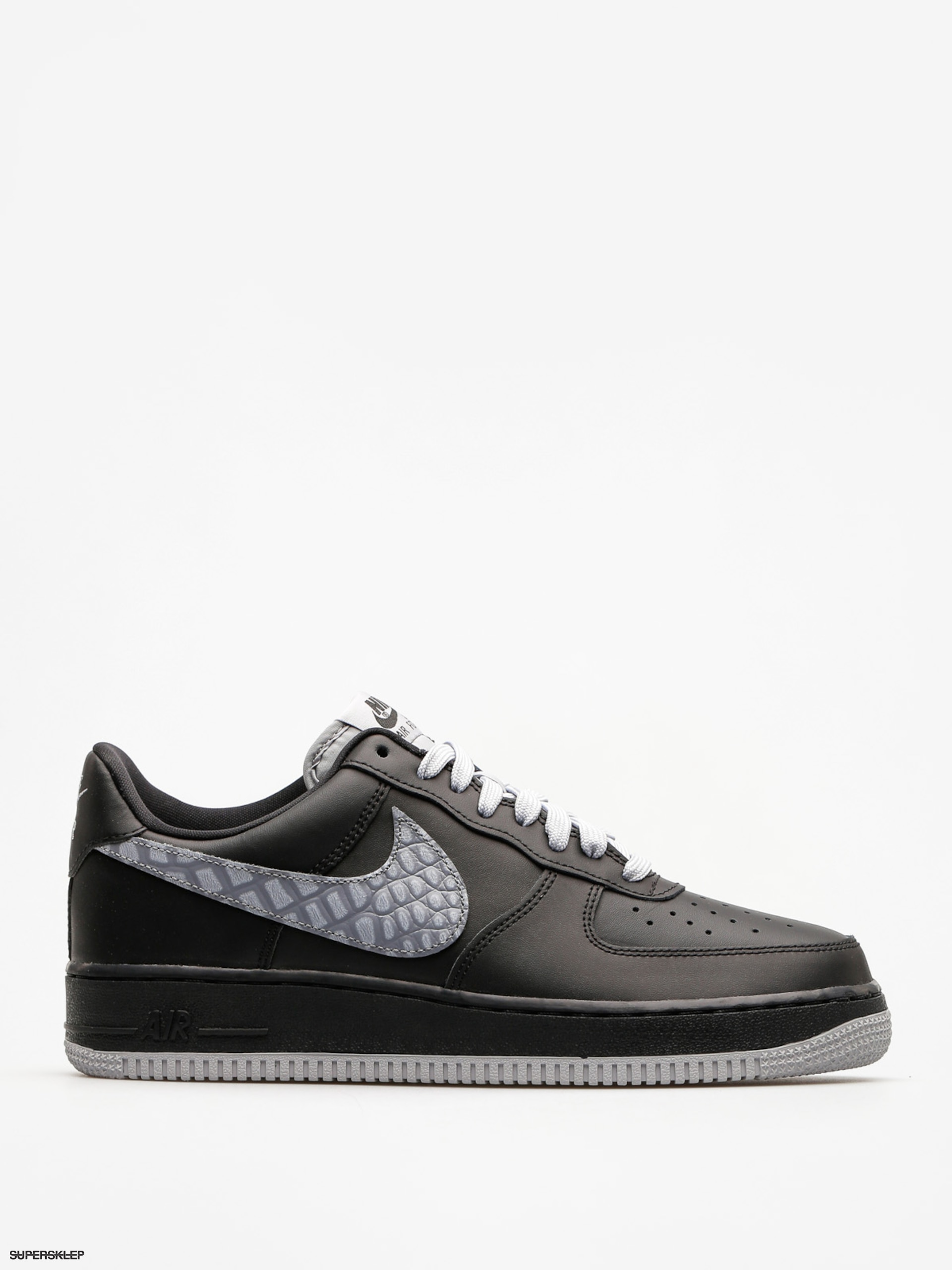 Topánky Nike Air Force 1 07 Lv8 (black/cool grey dark grey)