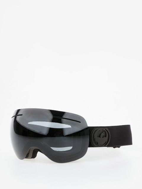 Okuliare na snowboard Dragon X1 (knight rider/dark smoke/l flash blue l rose)