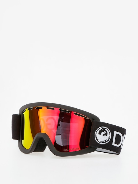 Okuliare na snowboard Dragon Lil D (black/lumalens red ion)