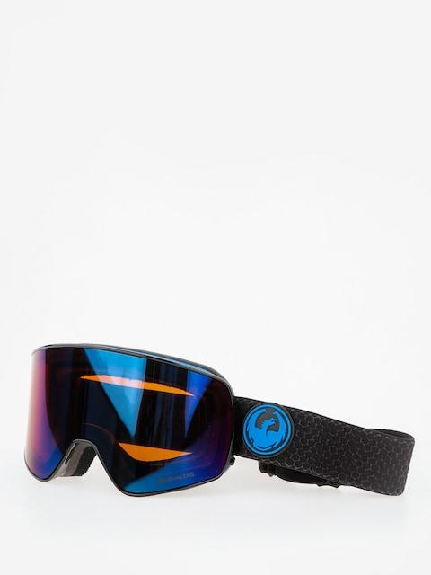 Okuliare na snowboard Dragon NFX2 (split/lumalens blue ion/l amber)