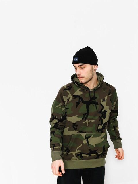 Mikina s kapucňou Nike SB Hoodie Po Icon Erdl HD (medium olive/black)