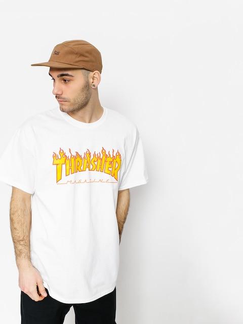 Tričko Thrasher Flame Logo