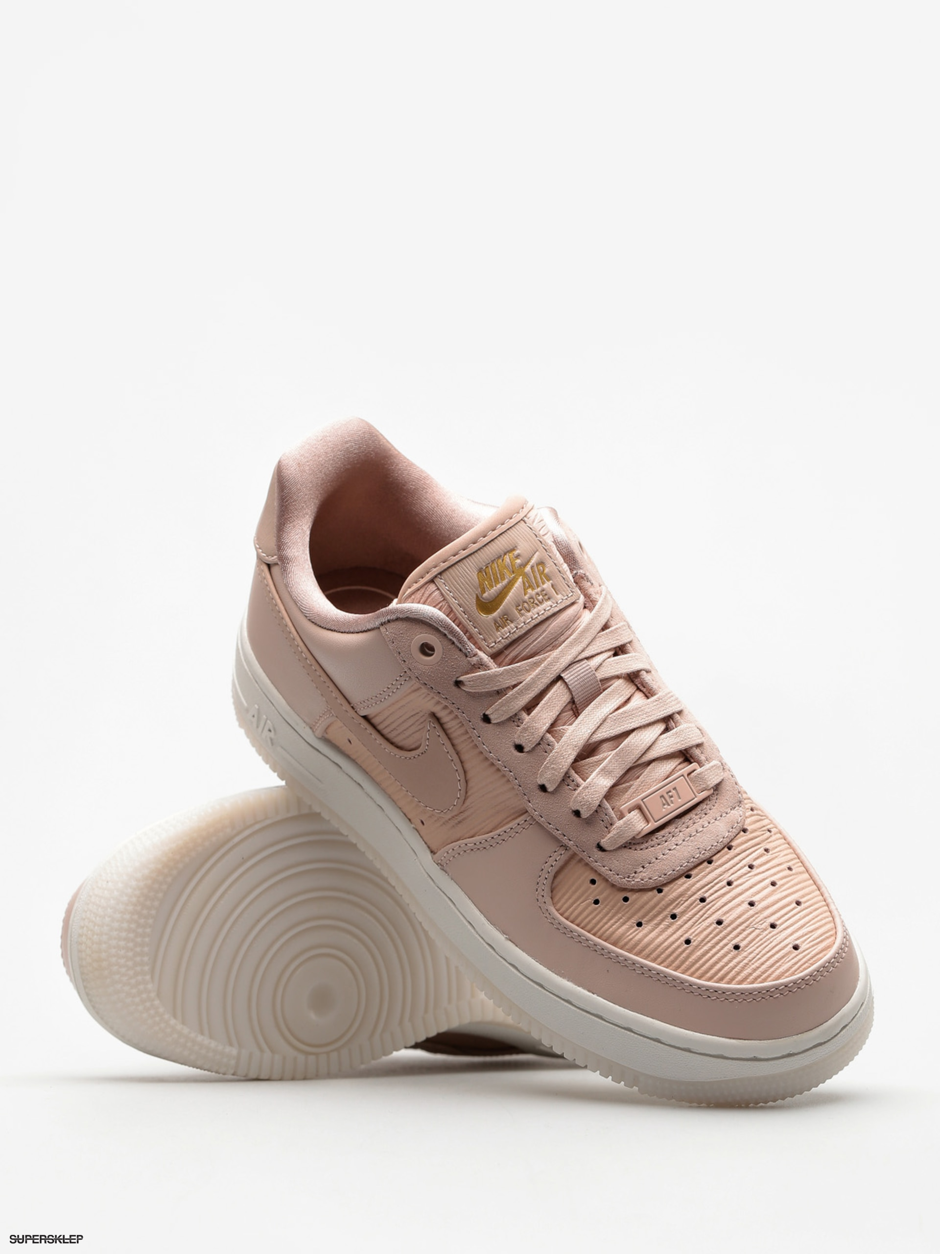 f5fee2954684c Topánky Nike Air Force 1 07 Lux Wmn (particle beige/particle beige)