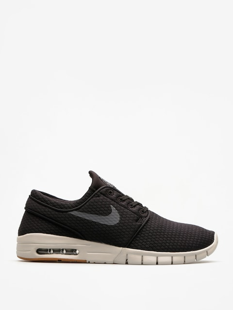 Topánky Nike SB Sb Stefan Janoski Max (black/dark grey gum med brown light bone)