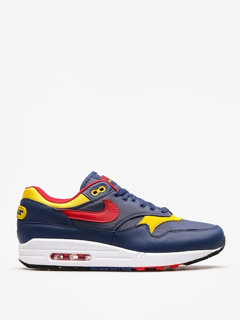 Topánky Nike Air Max 1 Premium (navy/gym red vivid sulfur white)