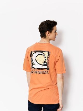 Tričko Quiksilver Durable Dens Way (cadmium orange)