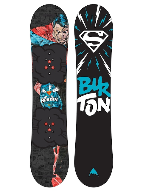 Snowboard Burton Chopper Dc Comics (multi/superman)