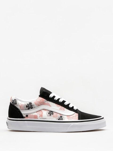Topánky Vans Old Skool (california/poppy/multi/true/white)