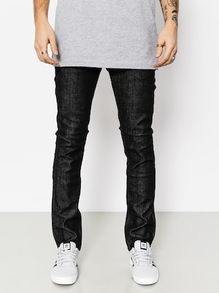 Nohavice Etnies E1 Slim Denim (black raw)