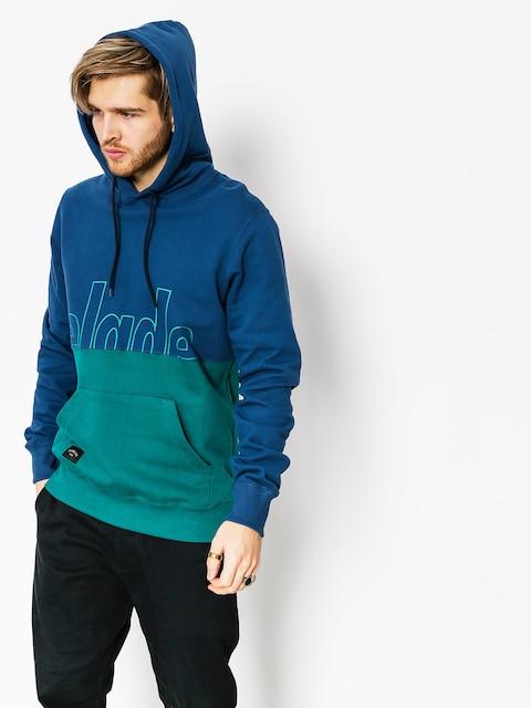 Mikina s kapucňou Elade Two Tone HD (blue/ocean green)