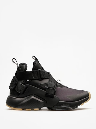 Topánky Nike Air Huarache City Wmn (black/black dark grey gum light brown)