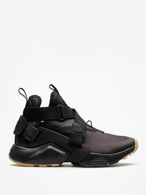 Topánky Nike Air Huarache City Wmn (black/black dark grey gum light brown)
