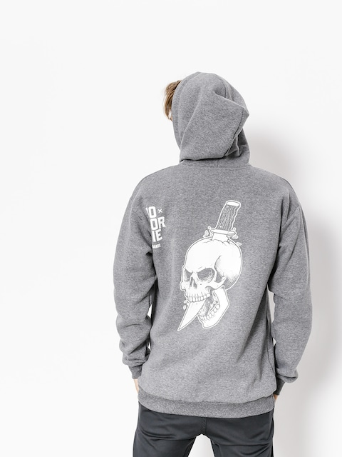 Mikina s kapucňou Diamante Wear Do Or Die ZHD (grey)