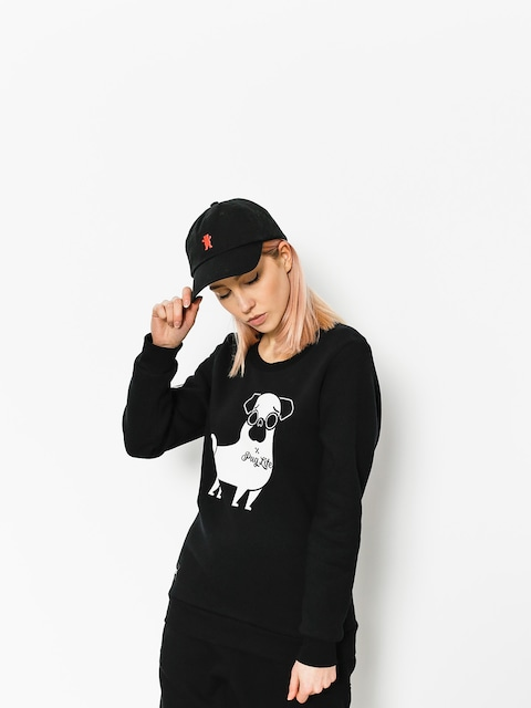 Mikina Diamante Wear Pug Life Wmn (black)