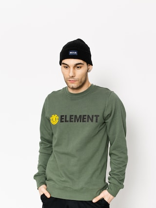 Mikina Element Blazin Crew (duck green)
