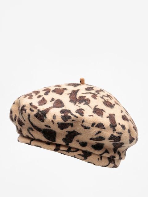 Klobúk so šiltom Brixton Beret Audrey Lw Beret Wmn (leopard)