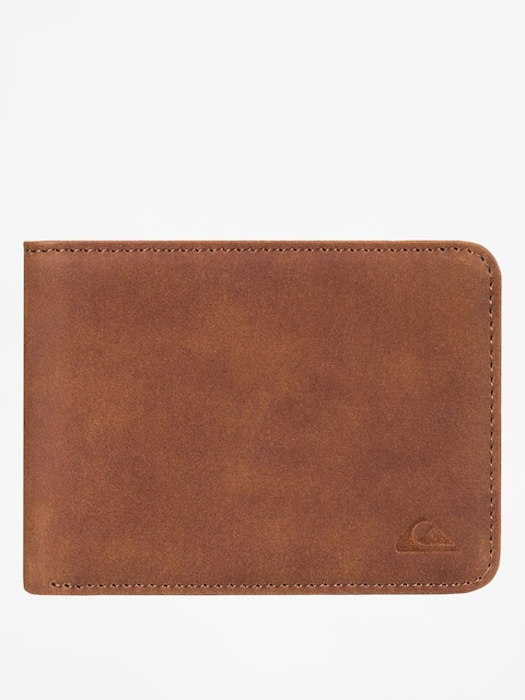 Peňaženka Quiksilver Slim Vintage (tan leather)