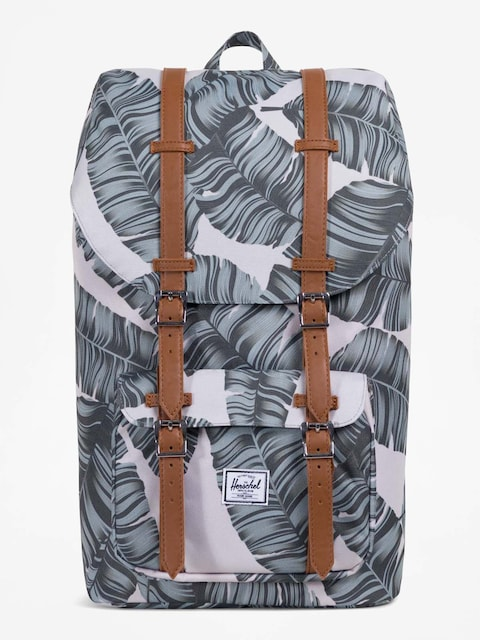 Batoh Herschel Supply Co. Little America (silver birch palm/tan synthetic leather)